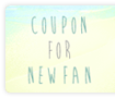 coupon for new fan